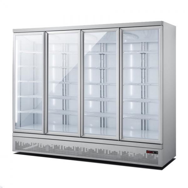 מקרר 4 דלתות זכוכית דגם S-2500